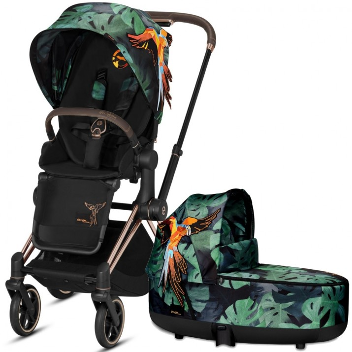 Cybex Priam Birds of Paradise 2в1 (Rose gold)