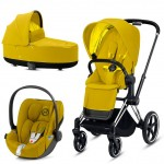 Mustard Yellow (Chrome black)